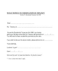 Renewal Letter Template End Of Lease Letter Template