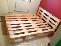 king size pallet bed best 25 pallet bed frames ideas on pinterest pallet beds pallet bed