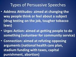 persuasive essay and speech persuasive choose a topic that really  3 types