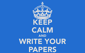 write your paper