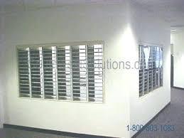 through wall mail slot through wall mail slot sleeve mailbox slot in wall in wall mail through wall