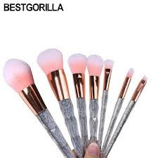 set brands brands makeup brushes crystal new makeup set brush colorful makeup brush diamonds blending brush beauty tools kits makeup brushes beauty supply