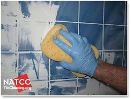 removing dry grout from tile cleaning excess grout with a grout sponge remove excess grout from glass tiles removing dried grout from tile face