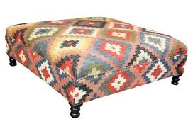 Medium size of Kilim Coffee Table Footstool I Upholstered ...
