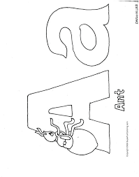 Alphabet Coloring Pages Printable Free Letter Spanish Letters