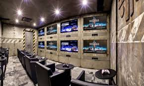 Gaming man cave style