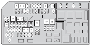 toyota land cruiser prado from 2011 fuse box diagram auto genius toyota land cruiser prado from 2011 fuse box diagram