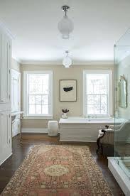 tan bathroom rugs historic renovation ct architectural detail bath architectural details eclectic farmhouse by brown and tan bathroom rugs