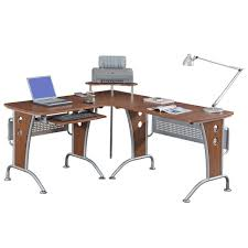Ergonomic Computer Desk Amazoncom Vip Suite Ergonomic Corner L Shaped Computer Desk