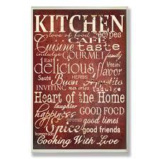 Red Kitchen Wall Decor Red Kitchen Decor Wayfair