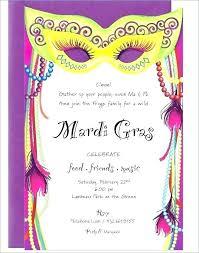 Mardi Gras Birthday Invitations Tagbug Invitation Ideas For You