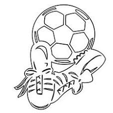 Small Picture A Soccer Ball With Net 16 coloring pages Soccer ideas