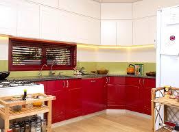 kitchen color ideas red. Design Ideas: Red Colored Kitchen Cabinet With Granite Countertop Color Ideas