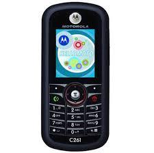 Back Panel Cover for Motorola C257 ...