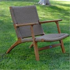 wicker and teak outdoor relaxing chair 25 most comfortable outdoor chaise lounge chairs
