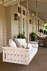 patio swing converts to bed porch swings