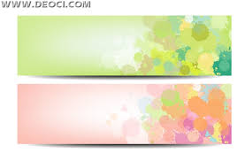banner design template 2 vector banner background fresh and elegant design template eps