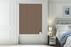 blackout vertical blinds. Perfect Vertical Natalie Choc Brown  Blackout Vertical Blind On Blinds A