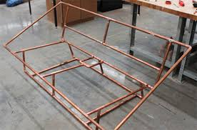 diy contemporary furniture. Modern, Rustic Or Contemporary Furniture With Copper Pipe Diy
