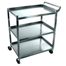 kitchen utility cart. Kitchen Utility Cart Metal Awesome Service Restaurant Carts Bus Home Depot . L
