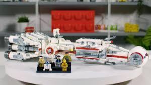 Lego Star Wars Designer Videos Lego Star Wars Tantive Iv Designer Video Review Interview 75244