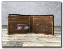 leather guitar pick wallet leather