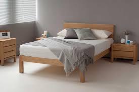 natural wood bed frame. Brilliant Bed With Natural Wood Bed Frame E