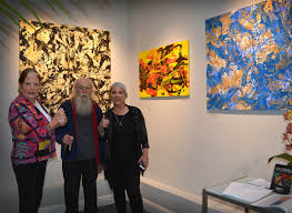 the art of bill ham at the san francisco women artists gallery june 6 july 1 2017 photo by emi