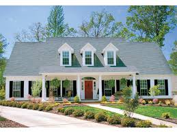 big house plans with large front and back porches