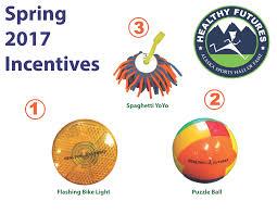 Incentive Flyer Spring 2017 Incentive Flyer Healthy Futures