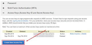 Access Key How To Create A New Amazon Aws Access Key Ask Xmodulo