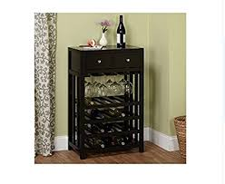 black wine cabinet. Contemporary Wine Wine Cabinet  This Beautiful Modern Black Rack Can Display Up  To 20 Throughout Amazoncom