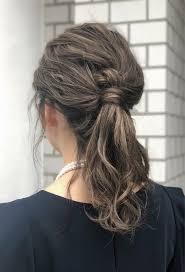 ミディアムだと髪がはねる人向けヘアセットヘアアレンジ法hair