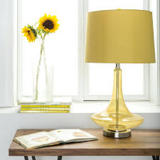 Yellow Table Lamp Zanmediaco