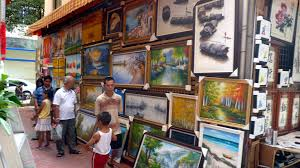 oil paintings on in dafen