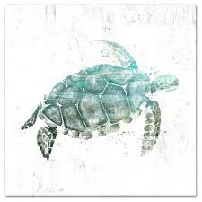 sea turtles wall art turquoise sea turtle canvas wall art copper sea turtle wall art