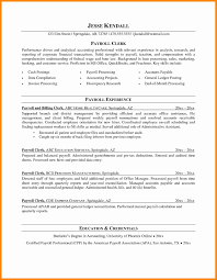 Payroll Clerk Resume New 44 Best Accounts Payable Job Description