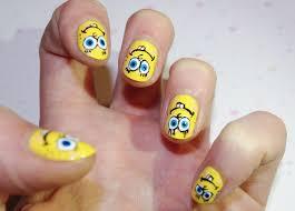 SpongeBob nails. - Nail Lacquer UK