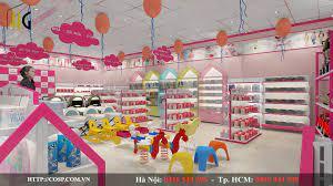 Thiết kế shop mẹ và bé PapaKids chị Trang Hà Nội