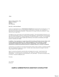 office assistant cover letter store administrative assistant cover letter sample clstore
