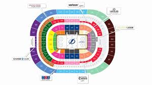 Lightning Hockey Seating Chart 77 Unmistakable Amalie Seating Chart With Rows