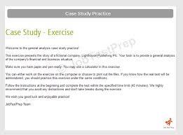 get assessment centre case study practice jobtestprep