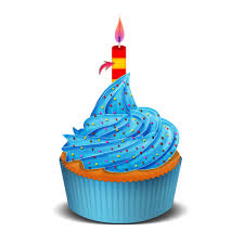 birthday cupcake candles blue. Simple Candles Vector Tutorial For Birthday Cupcake Candles Blue