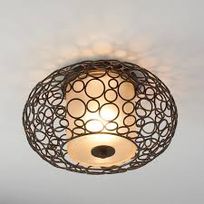 master bedroom bubble ring flushmount light
