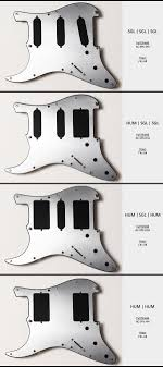 about acme cnc strat pickguards acme shielding variations