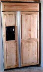 wood panel refrigerator. Plain Refrigerator Refrigerator Wood Panel Images For A