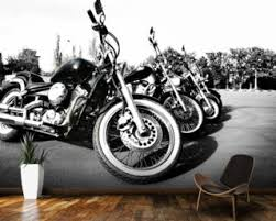 bikes on motorbike wall art australia with motorbike wall murals motorbike wallpaper wallsauce australia