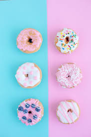cute pastry wallpaper. Interesting Pastry Six Assortedflavor Doughnuts Throughout Cute Pastry Wallpaper C
