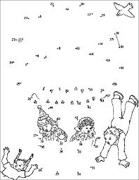Puzzels Voor Kinderen Punten Luchtballon
