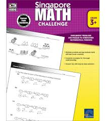 Go to your personalized recommendations wall and choose a skill that looks interesting! Singapore Math Challenge Workbook Grades 3 5 Math Book Tricks For Adding Subtracting Multiplying Dividing Numbers Using Patterns Working Backward 352 Pgs Singapore Asian Publishers Carson Dellosa Education 9781623990732 Amazon Com Books